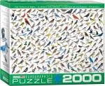 New Bird Puzzles made from Sibley Guides art