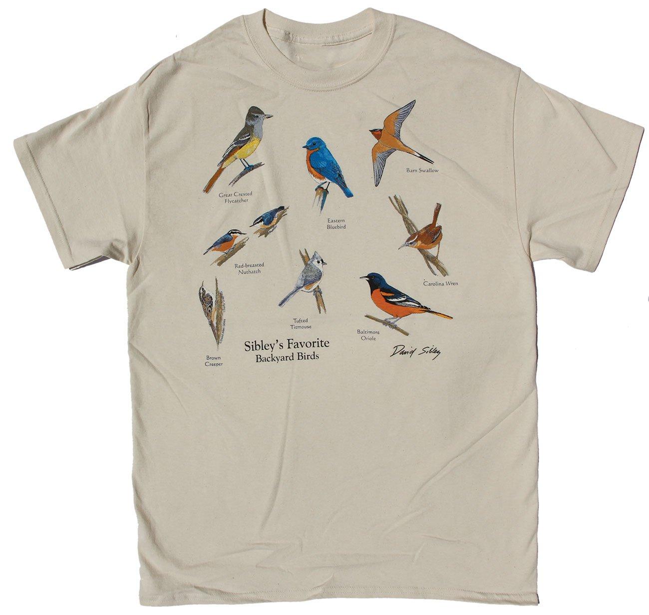 e29f8a141 Backyard Birds East t-shirt - Sibley Guides
